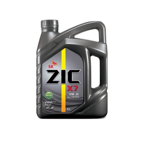 Dầu nhớt xe ô tô SK ZIC X7 10W30 DIESEL