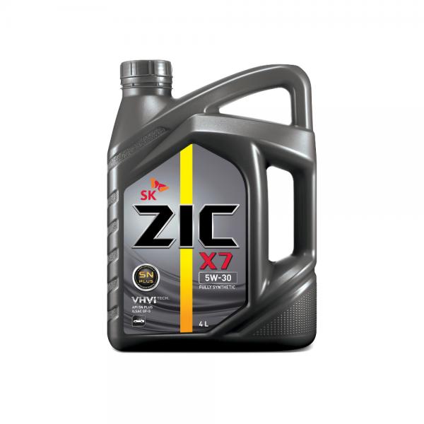 Dầu nhớt xe ô tô SK ZIC X7 5W30
