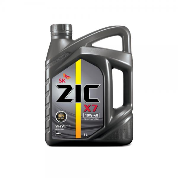 Dầu nhớt xe ô tô SK ZIC X7 10W40
