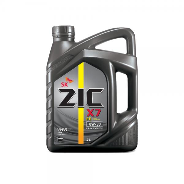 Dầu nhớt xe ô tô SK ZIC X7 FE 0W30